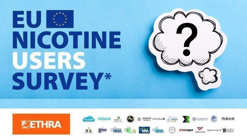 [ETHRA] Rapport sur une enquête d'envergure auprès des utilisateurs de nicotine européens 6C8BD8DC-1074-4711-9C9C-00E5728F5851